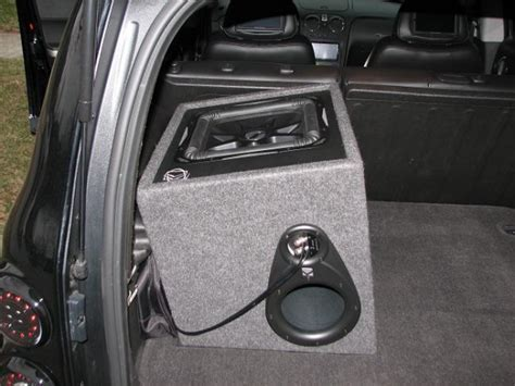 Bass Knob Install by 12 Quot L7 Install Tuning Chevy Hhr Network