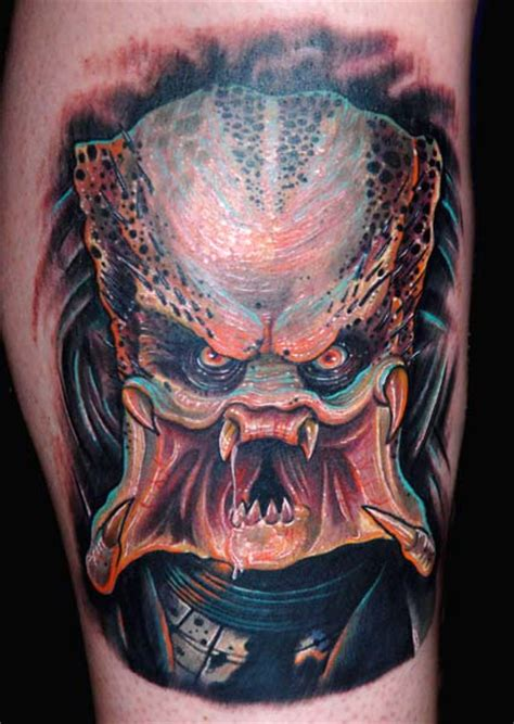 nate beavers tattoo predator by nate beavers tattoonow