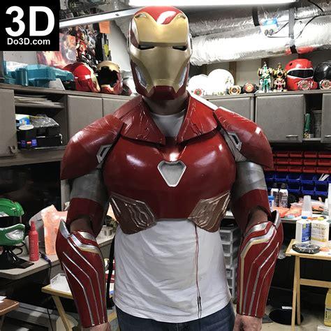printable model iron man mark xlviii full upper body