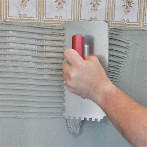 fliesenkleber entfernen ohne staub verlegung auf keramischen bel 228 wand ohne grundierung