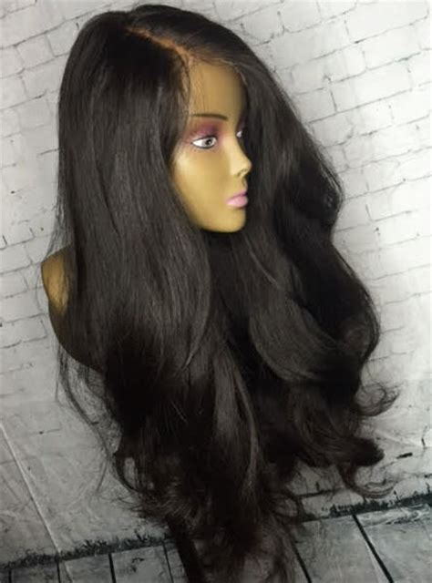 lace front wigs human hair wigs weave hairstyles beauty products 200 density loose weave lace front human hair wig