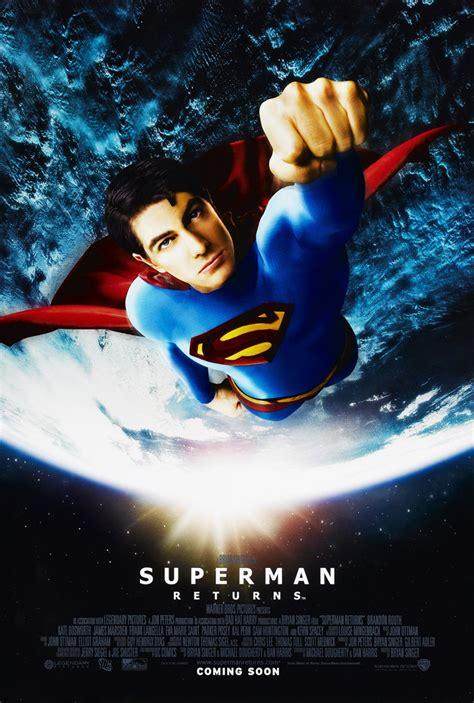 Return Intl superman returns poster 2 sided intl original 27x40
