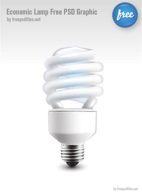 energy saver light on refrigerator 4 designer psd layered material of energy saving light bulbs