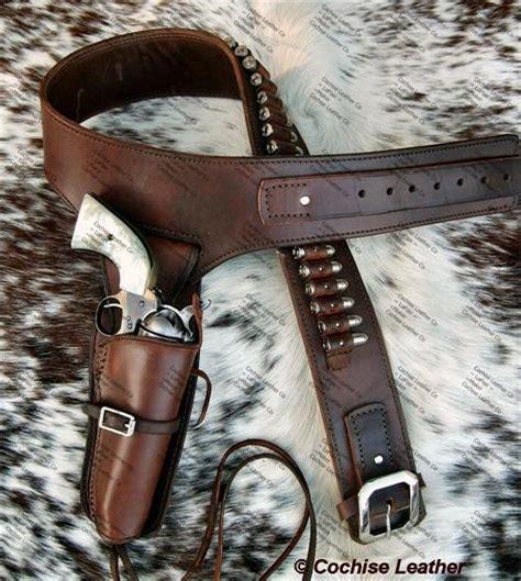 cochise leather the deputy buscadero gun rig custom made in usa