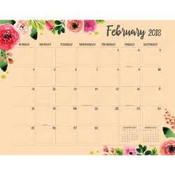 Calendar 2018 Printable Floral Floral 12 Month Blotter 9781683752554 Calendars