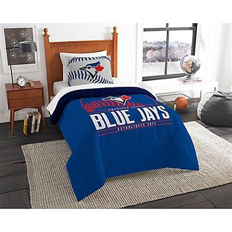 mlb toronto blue jays grand slam comforter set bed bath