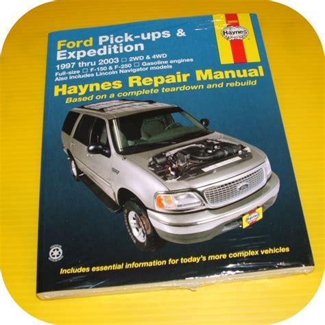 how to download repair manuals 2012 ford expedition el regenerative braking repair manual book ford expedition lincoln navigator ebay