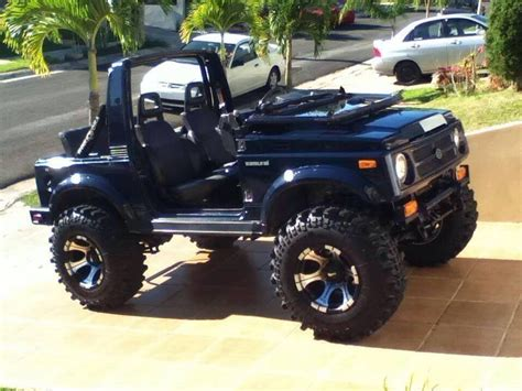 Modified Suzuki Sidekick Jeep Suzuki Samurai 4x4 2017 2018 Best Cars Reviews