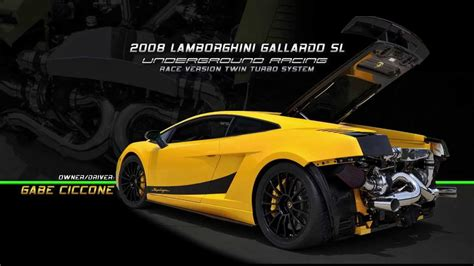 Wanna Jump Up In My Lamborghini Gallardo Underground Racing Is King Of New York With Gabe S