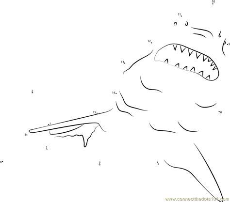 free printable dot to dot shark sharks see up dot to dot printable worksheet connect the