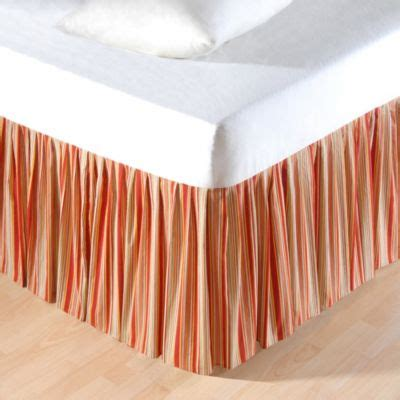 king bed skirt buy orange bed skirts from bed bath beyond