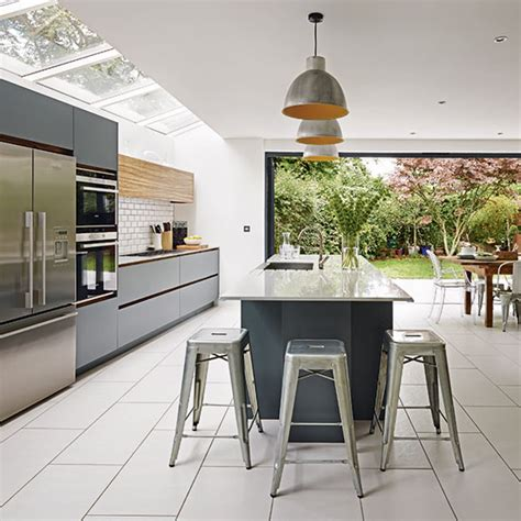 and grey kitchen ideas grey and white kitchen kitchen ideas ideal home