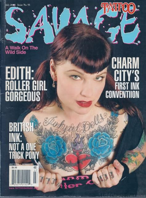 tattoo magazine back issues tattoo savage july 2008 magazine back issue tattoo savage