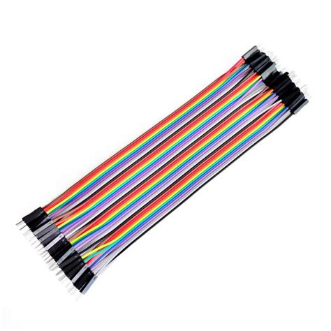 80pcs dupont cable jumper wire dupont line to dupont line 20cm 1p diameter 2 54mm in