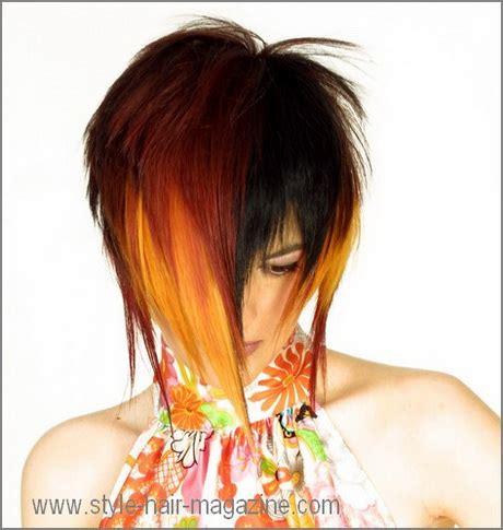 edgy dramatic hairstyles edgy medium length haircuts