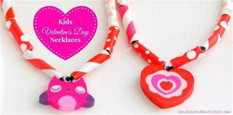 valentines for easy s day necklaces