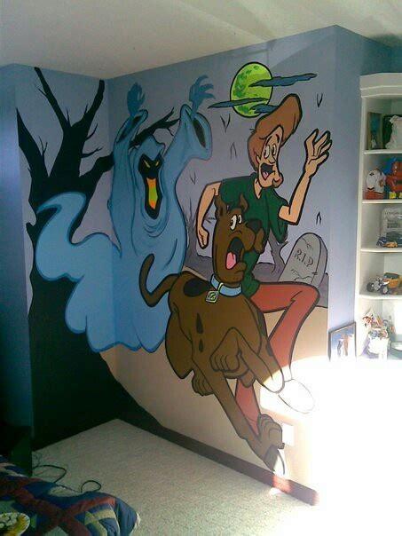 scooby doo wall mural scooby doo wall murals wall murals ideas