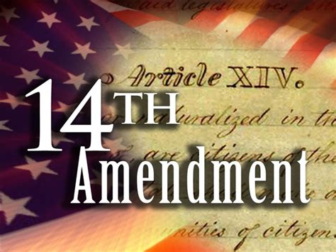 14th amendment section 1 meaning president violates14th amendment equal protection clause
