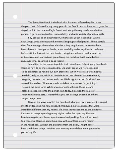 Eagle Scout Essay by Uncategorized Archives Page 39 Of 64 Scouting Newsroom