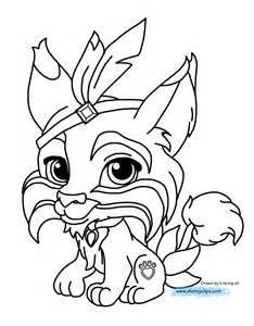pet coloring pages disney palace pets printable coloring pages disney