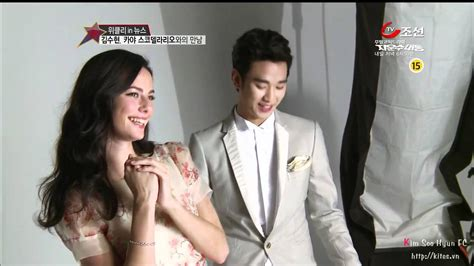 kim so hyun and bts engsub in tv 5 4 bts j estina cf kim soo hyun kaya