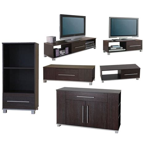 living room tv table living room furniture range sideboard tv stand coffee table media unit wood ebay