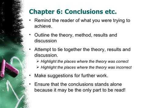 what to include in a dissertation conclusion dissertation conclusion