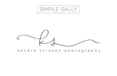 simple tattoo logo ks initials by simple sally designs www