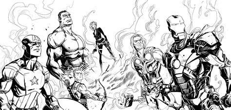 www full avengers coloring pages