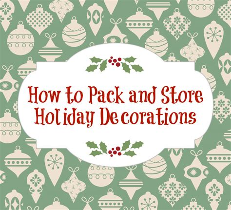 how to store christmas lights how to pack and store holiday decorations cento family