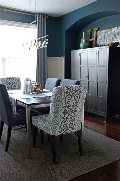teal color dining room chairs 15 best diy projects by diy paint colors the