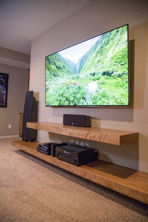 Best 25 Tv Shelf Ideas On Pinterest Floating Tv Stand Floating Shelves Entertainment Center