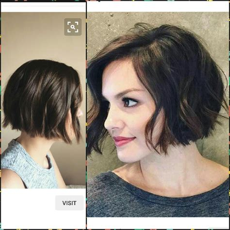 a long bob with wavy texture for fine hair lob with waves short wavy textured blunt bob hair pinterest cabelo