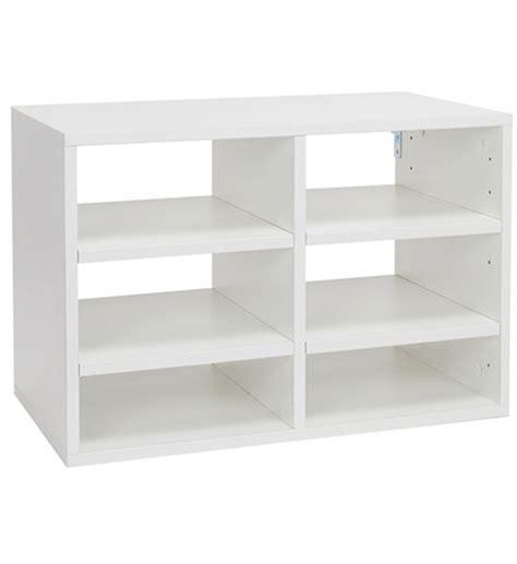 o box paper organizer insert white organization store