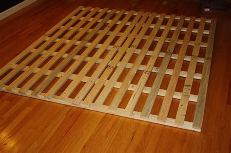 How To Make A Cheap Low Profile Wooden Bed Frame Build A Cheap Bed Frame