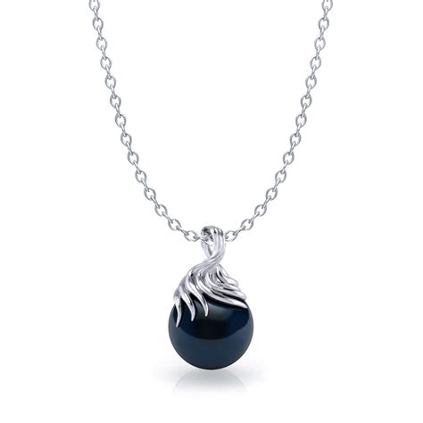 Black Jewelry by Artistic Tahitian Black Pearl Necklace Jewelry Designs