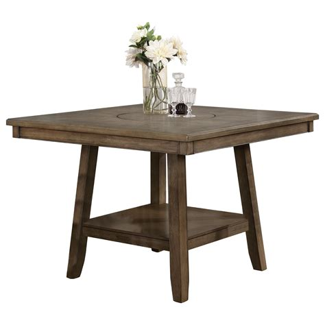 crown counter height table in crown manning casual counter height table miskelly furniture pub tables