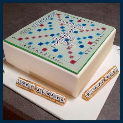 scrabble wedding cake scrabble board cake cakes by