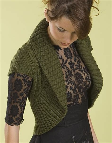 free knitting patterns for shrugs and wraps easy shrug knitting patterns in the loop knitting