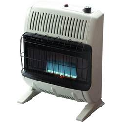 Outdoor Space Heater Home Depot - heatstar 20 000 btu blue flame vent free propane gas space heater fireplace country