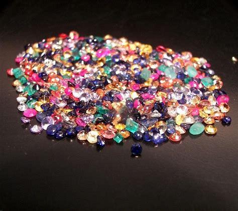gemstones wholesale mixed gemstone tanzanite ruby emerald