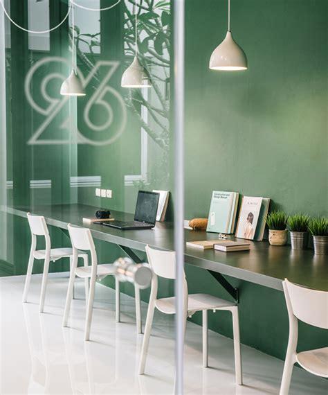 designboom office interior phongphat ueasangkhomset renovates bangkok town house for