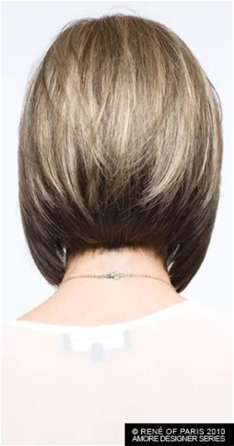 hairstyles showing front and back views medium length angled bob pictures show front and back view