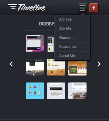 sahifa theme mobile view timeline premium tumblr theme by tofuthemes themeforest
