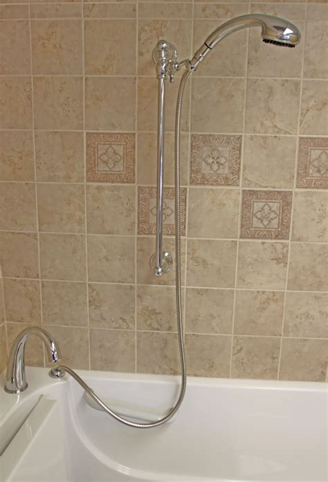 how to make a bathtub into a shower faucets fittings bliss tubs walk in tubs