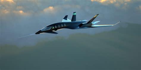 model commercial jets supersonic jet concept free 3d model 3dm ige igs iges