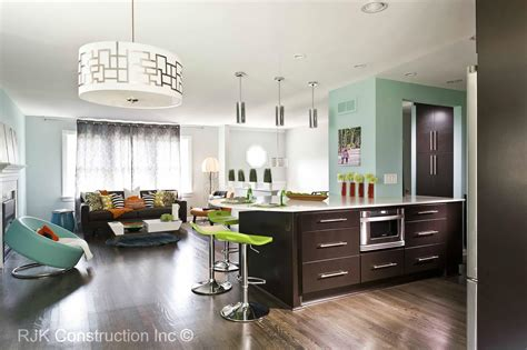 modern kitchen living room design interiordecodir com april 2013 rjk construction inc page 2
