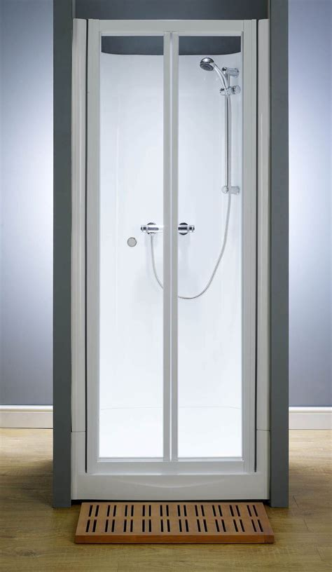 Kubex Eclipse Leak Proof Shower Cubicle With Bi Fold Door Shower Cubicle Door