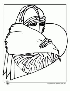 The Art Of Deco Luella Says Deco Coloring Pages