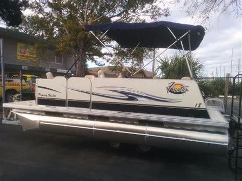 pontoon boats for sale hudson florida fiesta pontoon boats for sale